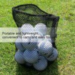 VGEBY Sac de Balle de Golf, Le Stockage en Nylon de Haute résistance de Boule de Golf de 12 balles Double Maille met en Sac la Poche Poke
