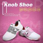 WBS Chaussures de Golf pour Femmes, Chaussures de Golf imperméables avec système de Dentelle boa, Confortables Chaussures de Golf Respirantes