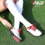 WBS Chaussures de Golf pour Femmes, Design de Mode de Style Britannique, Chaussures de Sport étanche pour Dames, matériau en Microfibre Doux, Pointes d'activité, Chaussures de Sport Respirantes