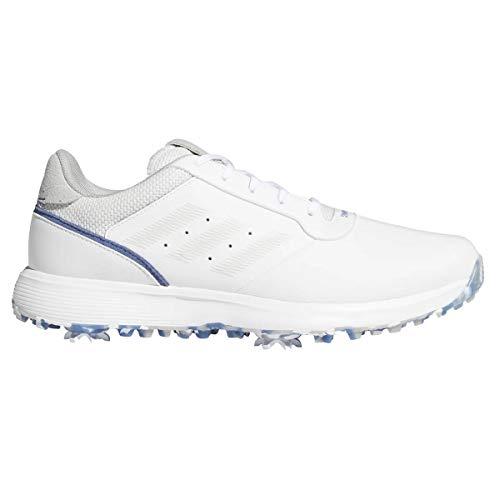 adidas Chaussures de golf pour homme S2G FTWR blanc/gris One/Crew Blue – 44,5