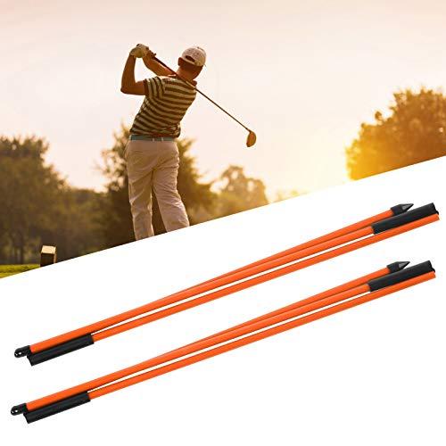 AMONIDA indicateur de Golf à 3 Plis, indicateur de Direction de Golf Design Pliable pour Sports de Plein air pour Joueur de Golf pour Pratique de Golf pour Jeu de Golf(Orange)