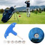 MOH Vis de Poids de Golf Accessoire de clé de Clubs de Golf de qualité Portable avec kit d'outils de vis de Poids pour Accessoire de Clubs de Golf Adms