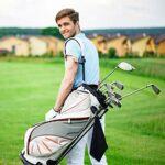 Paquet de 2 Serviette de Golf en Microfibre Serviette de Nettoyage de Golf avec Clip pour Golf Yoga Camping Gym (24,41 Pouces par 16,34 Pouces)