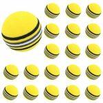 Wingke Lot de 20 balles de golf souples d'entraînement