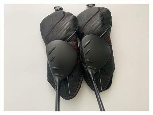 YDL Clubs De Golf 1X 410 Hybrid + 1x 410 Fairway Wood 410 Clubs De Golf R/S/SR Flex Flex Shaft De Graphite avec Couvercle De La Tête (Color : 3W5H S)