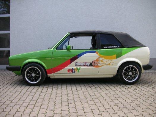 eBay.at geht unter die Tuner - Golf tuned by eBay