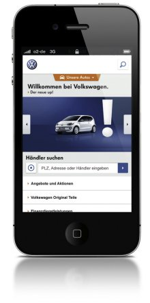 iphone volkswagen