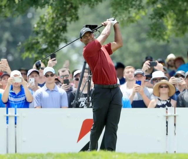 Tiger Woods Tee Time Pga Championship 2018