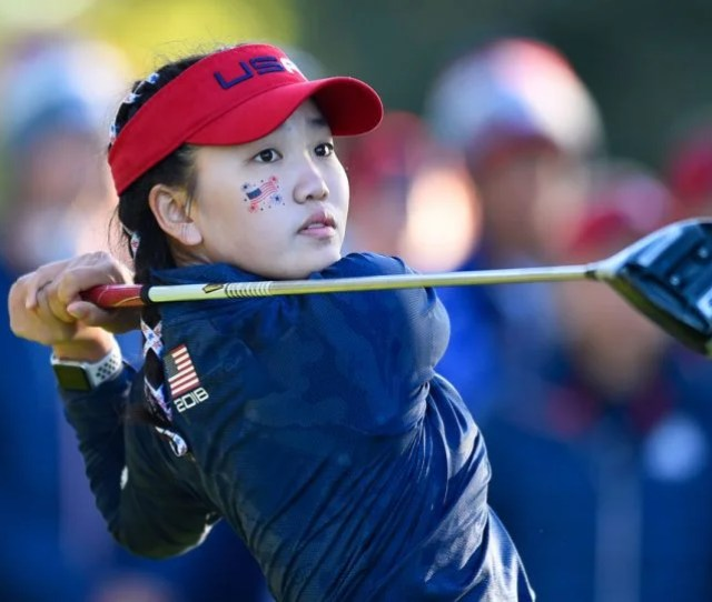Lucy Li Played On The U S Team At The 2018 Junior Ryder Cup