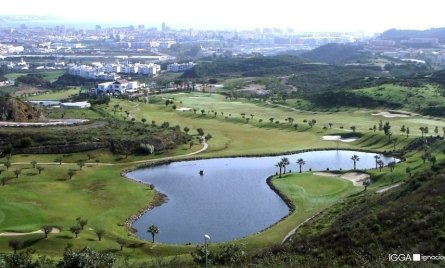 Golf course ecological and sustainable