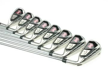 Callaway RAZR X Irons with Reg/Firm Steel Callaway shaft