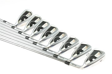 Ping G400 Irons with Stiff Steel KBS Tour 120 shaft
