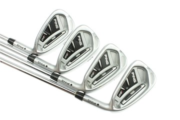 Ping i20 Irons with Stiff Steel Ping Cfs shaft