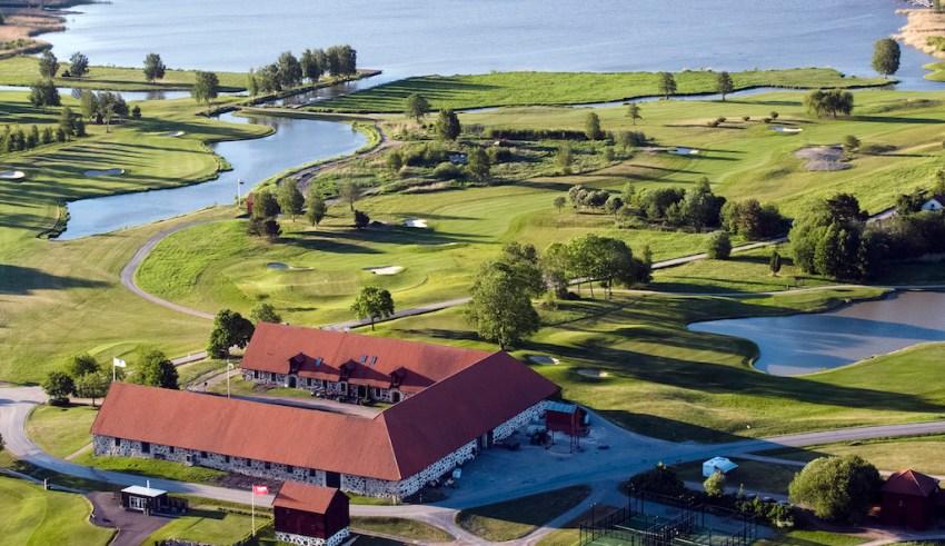 Frösåkers nya golfhotell.