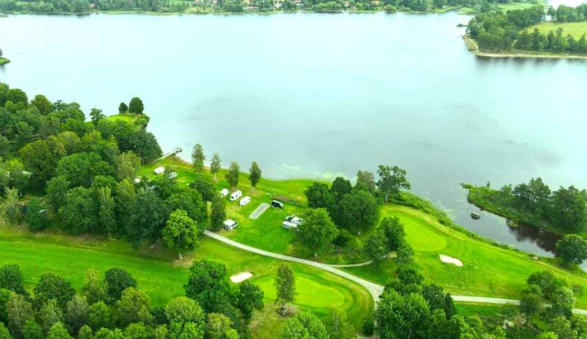 Golfhäftet satsar på campinggolf