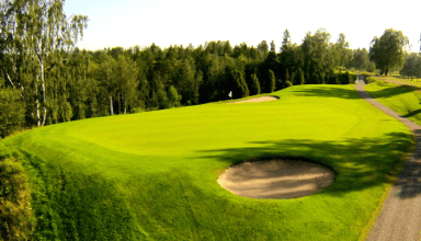 Jönköpings Golfklubb, hål 11.