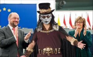 Van Rompuy witchdoctor