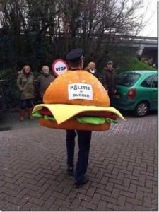 agent in burger