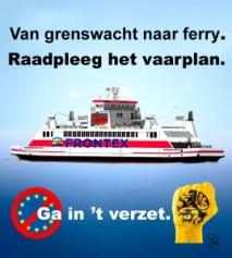 In 't verzet frontex ferry