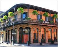 Corner Balcony, New Orleans, French Quarter | Golf, by ...