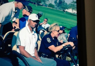 Tiger Woods Withdraws At Torrey Pines On 12th Hole With