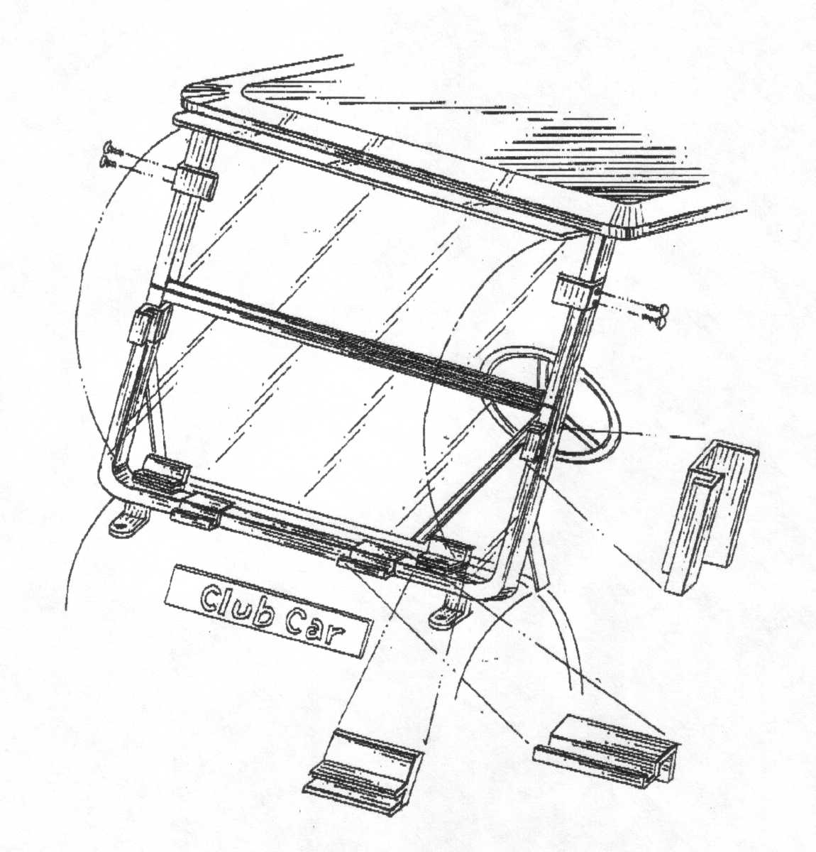wiring diagram for club car golf cart ceiling fan double switch turf 2 1989