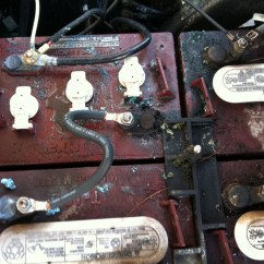 Yamaha Golf Cart Battery Wiring Diagram Lung Drawing Put Spring In Your Electric - Talkgolfcarcatalog.com Blog