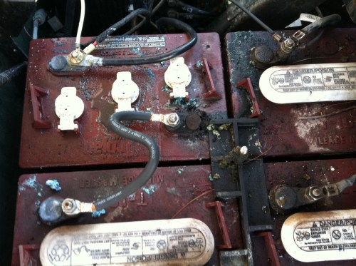small resolution of  golf cart battery wiring diagram d