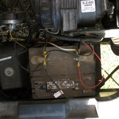 Yamaha Golf Cart Battery Wiring Diagram Subaru Wrx Radio 82 Ezgo Ez Go