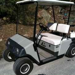 Ezgo Windshield Kenmore He2 Plus Washer Parts Diagram Golf Cart Museum Marathon 1986 94 Custom Bodies