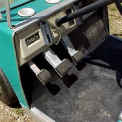 Club Car Battery Wiring Diagram 36 Volt Craftsman Lt1000 Ignition Golf Cart Museum: | Golfcarcatalog.com ...