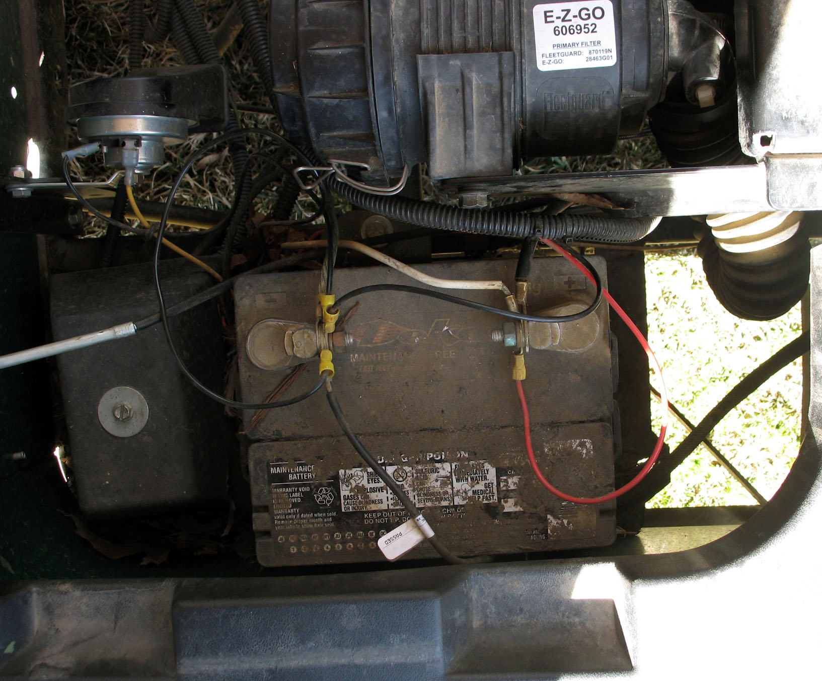 ezgo battery wiring diagram model t ford coil golf cart service checklist - talkgolfcarcatalog.com blog