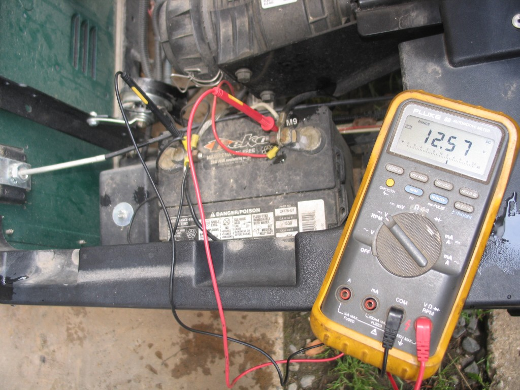 hight resolution of testing a gas golf cart solenoid