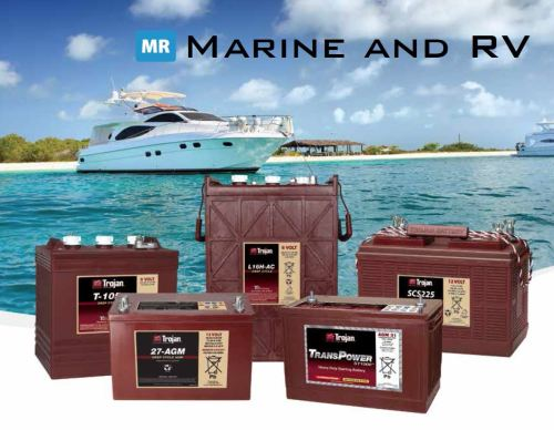 Batteries for Marine application