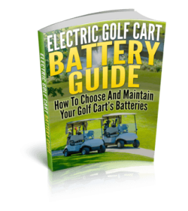 Electric Golf Cart Battery Maintenance Tips