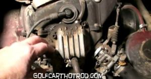 How to Find HARLEY DAVIDSON  Columbia Golf Cart Serial Number and Year