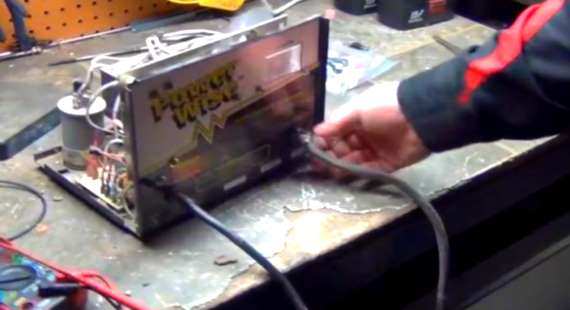 48 Volt Golf Cart Charger Wiring Diagram How To Fix And Repair An Ez Go Powerwise Golf Cart Charger