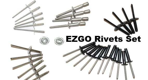 EZGO Rivets set