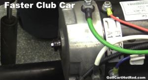 Make Club Car Precedent Have Faster Top End With High Speed Motor Mag Install Video