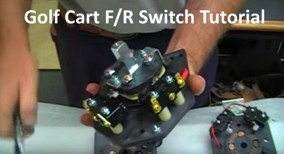 1996 Yamaha Golf Cart Wiring Diagram Golf Cart Forward And Reverse Switch Types Good And Bad Video