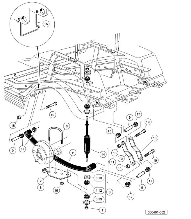 2003 jeep liberty parts diagram page 6