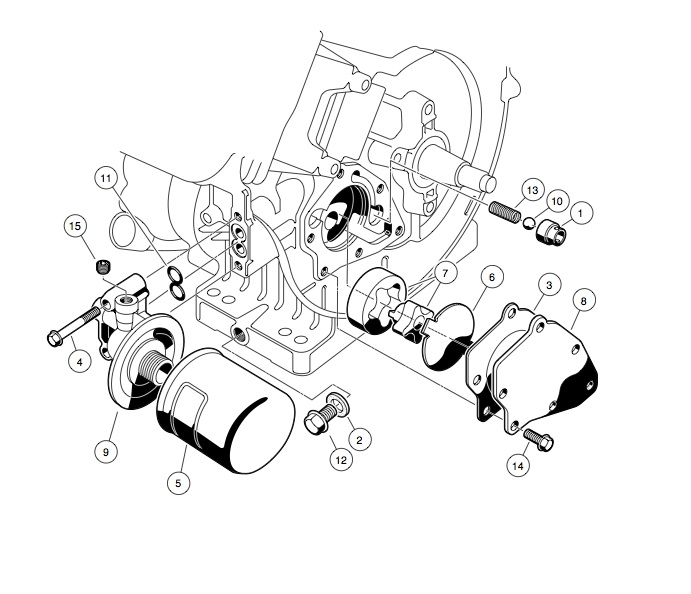 ENGINE - FE290 ENGINE
