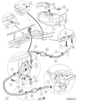20062007 Club Car DS Gas or Electric  Club Car parts
