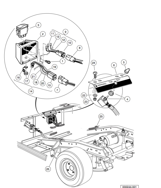 Wiring Diagram For 2007 Ez Go Golf Cart