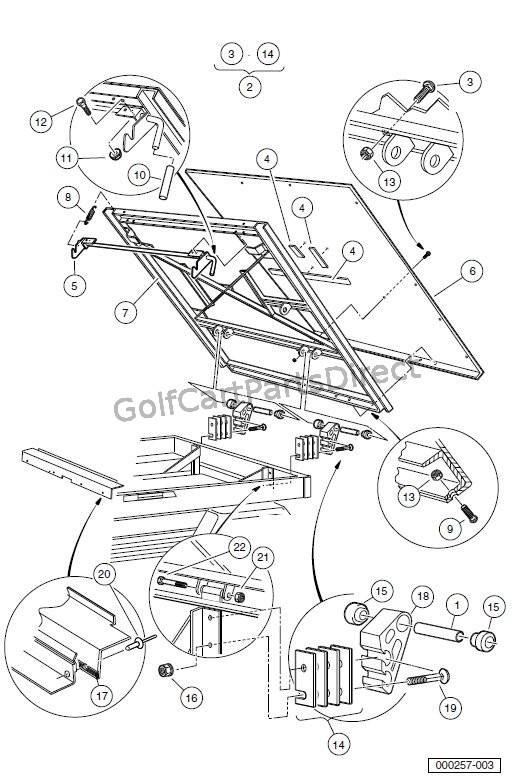 Club Car Golf Cart Wiring Schematic Manual