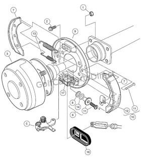 Club Car Clutch Diagram  Wiring Diagram