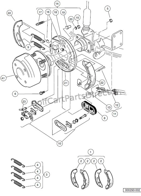 BRAKES – REAR BRAKE ASSEMBLY, MANUALLY – ADJUSTED