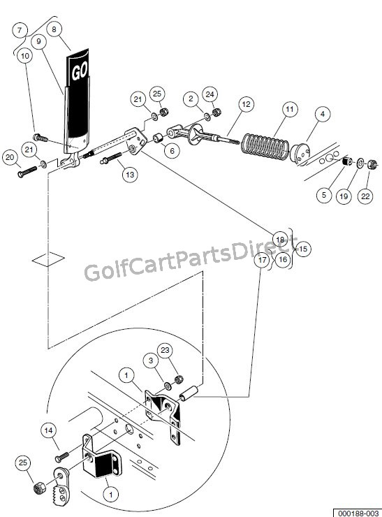 Yamaha G9 Golf Cart Parts Diagram Exploded. Yamaha. Wiring