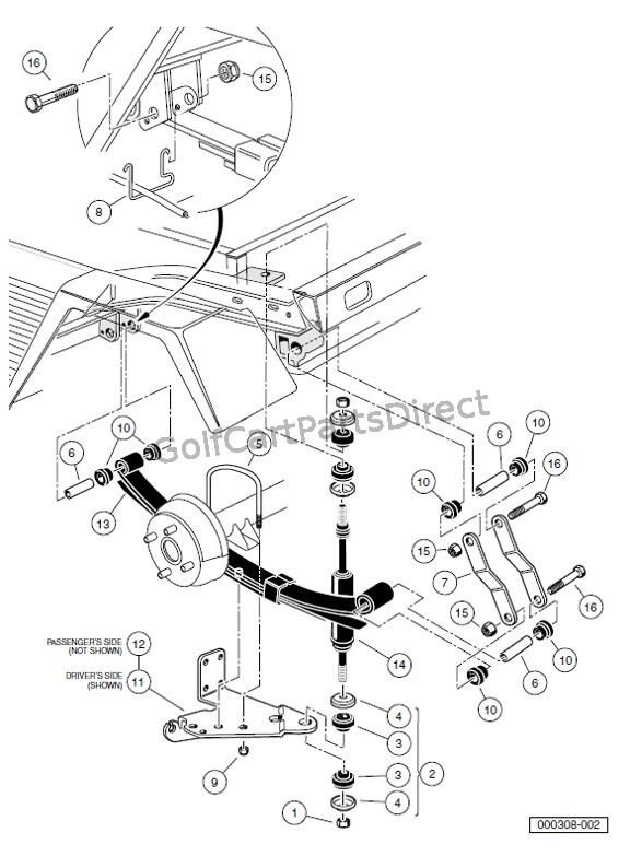 Club Car Carryall 2 Wiring Diagram : 34 Wiring Diagram
