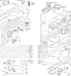 1996 ga club car wiring diagram [ 1510 x 946 Pixel ]
